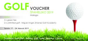 GOLF voucher 2019 Malaga